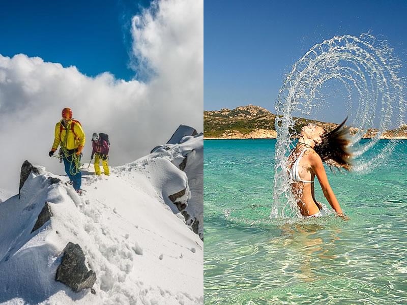 Conosciuto Ferragosto al mare o in montagna: gli affari di oggi - Turismo News DE33