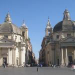 A passeggio per il centro storico di Roma