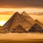 All'interno delle Piramidi di Giza