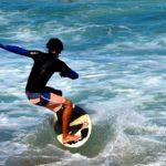 La pratica del surf in Italia