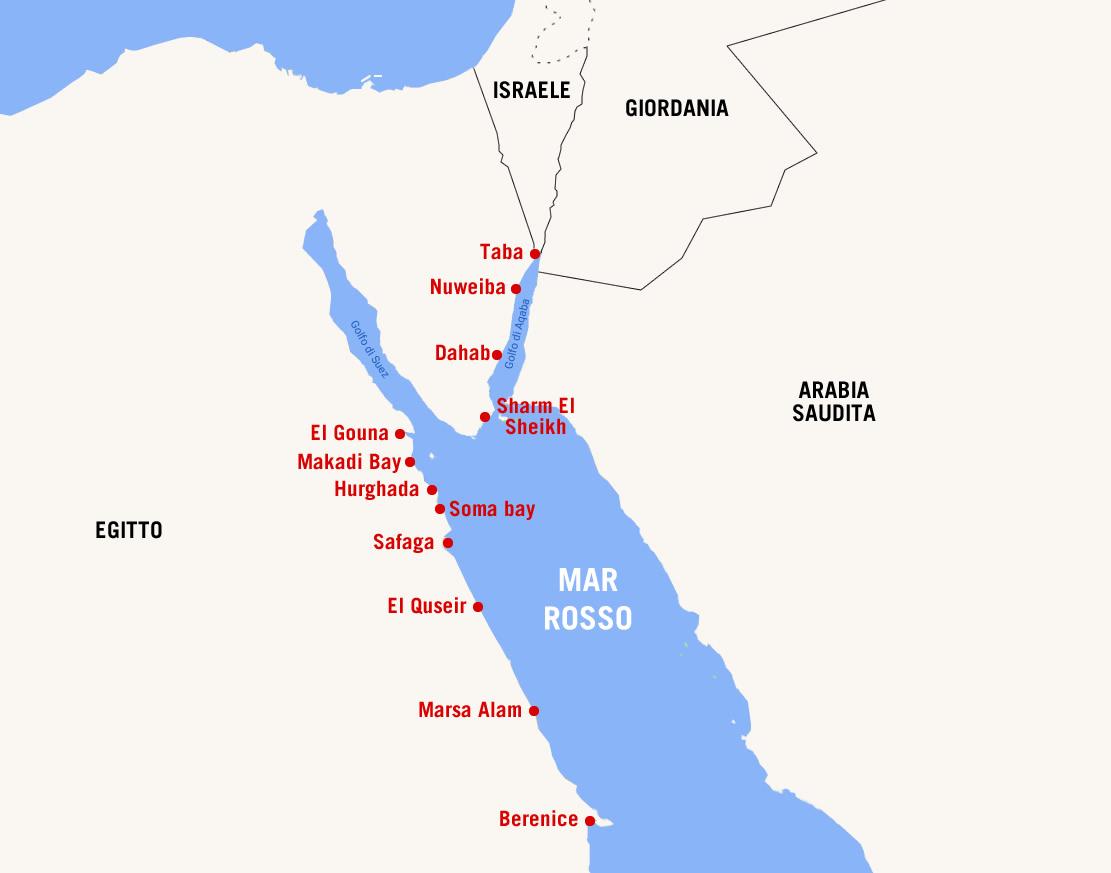 Cartina Puglia Localita Turistiche.Le Localita Piu Belle Del Mar Rosso Turismo News
